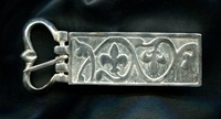 Medieval Buckle 1 Top to